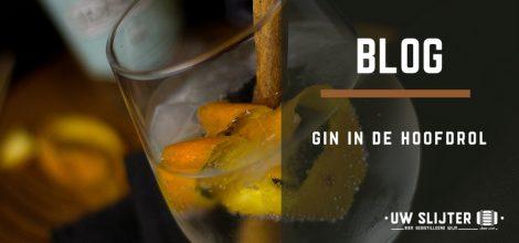 Een close-up van gin in een glas
