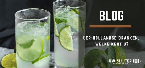 Glazen met Gin tonic en limoen