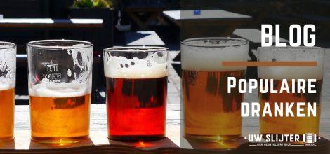 Glazen bier met verschillende smaken